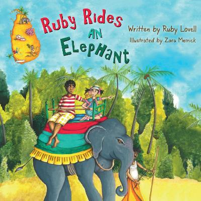 Ruby Rides An Elephant
