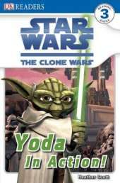 Star Wars Clone Wars Yoda in Action!