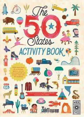 The 50 States: Activity Book: Maps of the 50 States of the USA