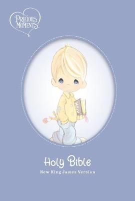 NKJV, Precious Moments Small Hands Bible, Blue, Hardcover, Comfort Print: Holy Bible, New King James Version