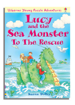 Young Puzzle Adventures Lucy and the Sea Monster to the Rescue