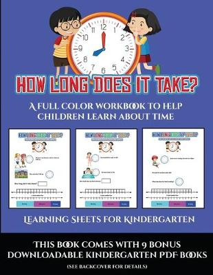 Book Reviews for Learning Sheets for Kindergarten (How ...