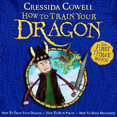 How To Train Your Dragon Collection: The First Three Books!