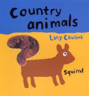 Country Animals Touch & Feel Board Book