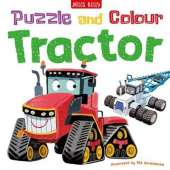 Puzzle and Colour: Tractor
