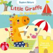 Little Giraffe at the beach