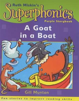 Superphonics: Purple Storybook: A Goat in a Boat