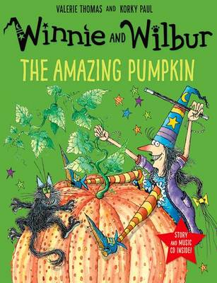 Winnie and Wilbur: The Amazing Pumpkin with audio CD