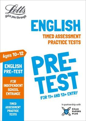Letts English Pre-test Practice Tests: Timed Assessment Practice Tests