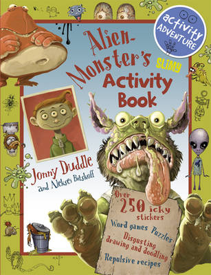Alien Monster's Slimy Activity Book