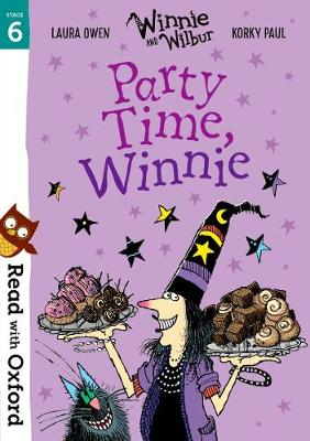 Read with Oxford: Stage 6: Winnie and Wilbur: Party Time, Winnie