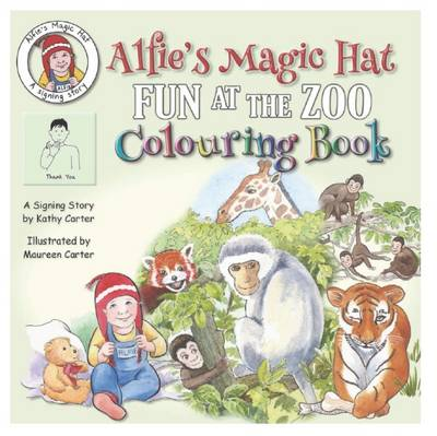 Alfie's Magic Hat: Fun at the Zoo Colouring Book