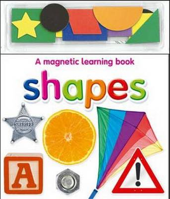 Magnetic Learning Books Shapes