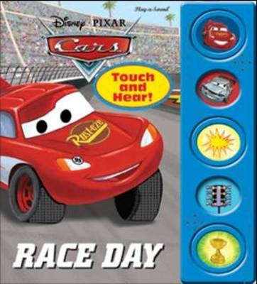 Disney Cars Race Day, Little Touch & Hear Book
