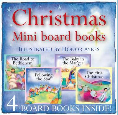 Christmas Mini Board Books: Mini Christmas Box