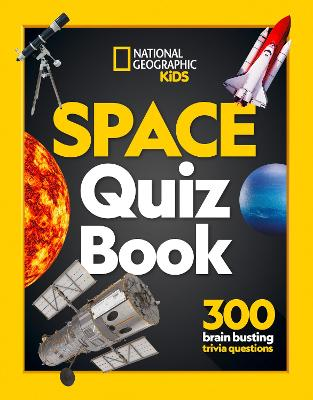 Space Quiz Book: 300 Brain Busting Trivia Questions