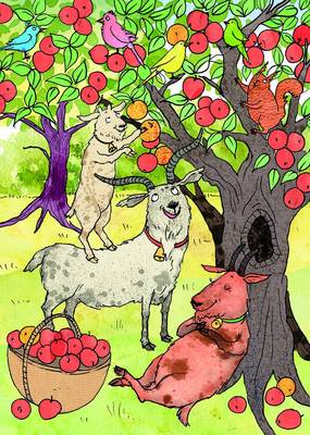 The Three Billy Goats Gruff: (A Story Card)