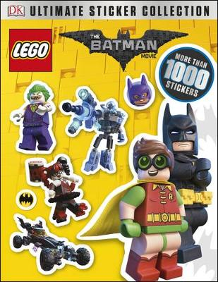 The LEGO (R) BATMAN MOVIE Ultimate Sticker Collection