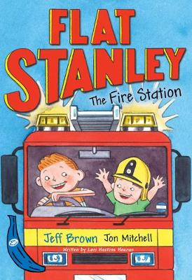 Flat Stanley and the Fire Station: Blue Banana
