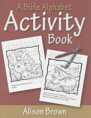 A Bible Alphabet Activity Book