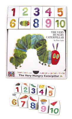 The Very Hungry Caterpillar Board Book and Block Set
