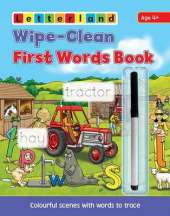 Wipe Clean First Words Book: Wipe-Clean Scenes with Words to Trace