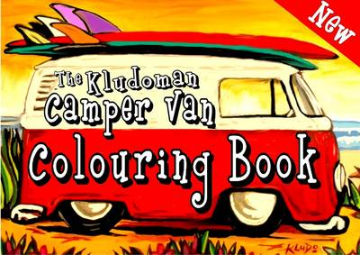 The Kludoman Camper Van Colouring Book