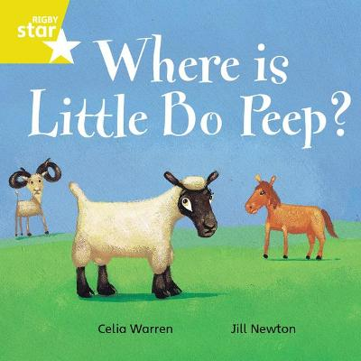 Rigby Star Independent Yellow Reader 7 Where is Little Bo Peep?