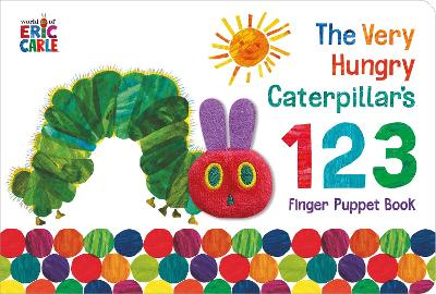 The Very Hungry Caterpillar Finger Puppet Book: 123 Counting Book