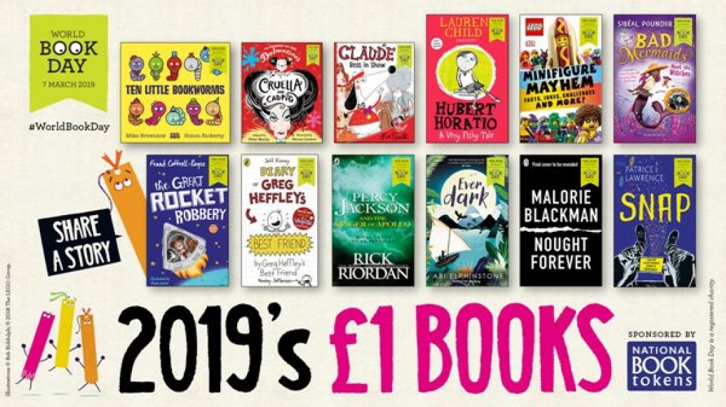Image result for 2019 World Book Day £1 books