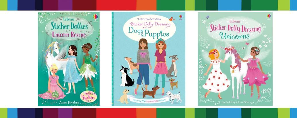 Sticker Dolly Dressing Books Toppsta