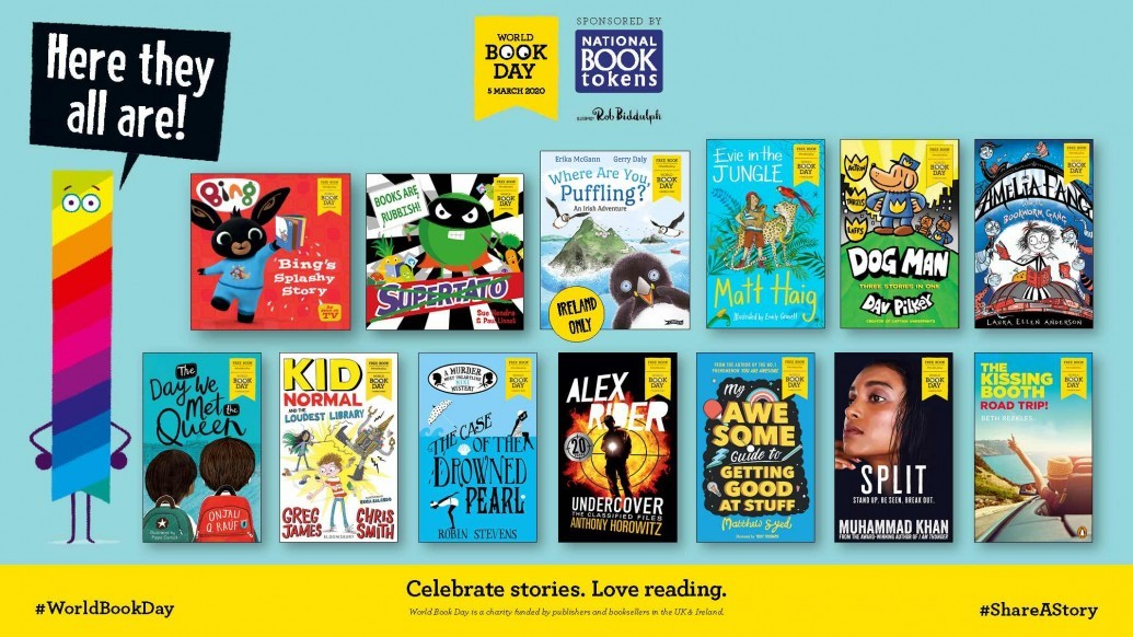 World Book Day books
