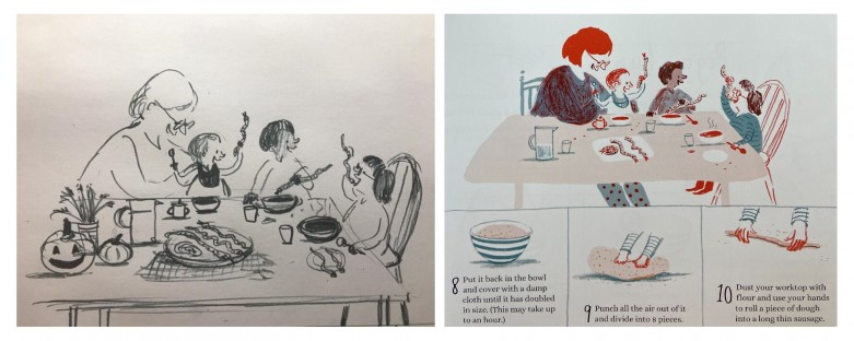 Illustrations from My First Cook Book