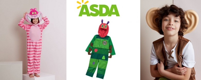 Asda World Book Day Costumes