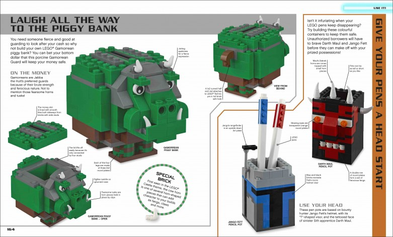 LEGO Star Wars™ Ideas Book sample page
