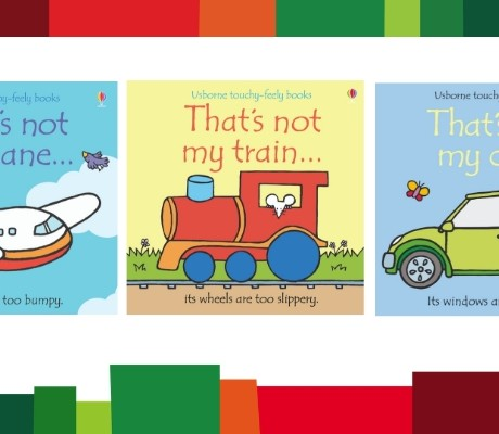 Books for Kids Who Love Transport
