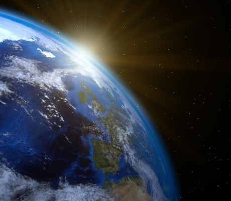 Image of Earth for Earth Day Tips
